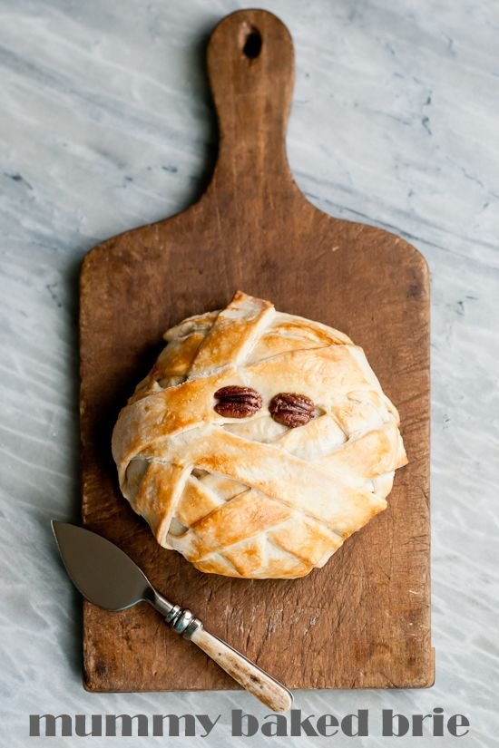Mummy baked brie