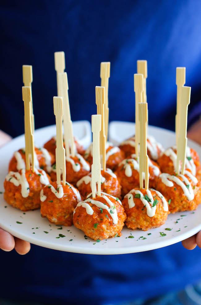 Buffalo Chix Meatballs